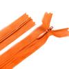 Молния пласт потайная №3 50 см цвет оранжевый фото