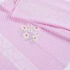 Полотенце махровое Sunvim 18B-1 Ромашки 50/90 см цвет розовый фото