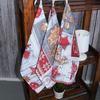 Набор полотенец рогожка 3 шт 50/60 см 10731/1 Чудеса фото