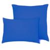 Наволочка на молнии Трикотаж цвет синий 70/70 фото