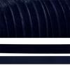 Лента бархатная 20 мм TBY LB2054 цвет т-синий 1 метр фото