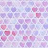 Перкаль 150 см 8808/1 Сердечки фото