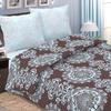 Постельное белье 735-3 Белладжио цвет кофе 2-х сп с евро простыней поплин фото