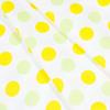 Ткань на отрез бязь плательная 150 см 1718/9 цвет желтый-салат фото