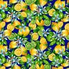 Ткань на отрез фланель грунт 150 см 622-3п Лимоны фото