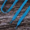 Шнурки плоские, голубой 115см уп 2 шт фото