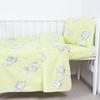Пододеяльник бязь ГОСТ детский 1285/3 Мамонтенок цвет зеленый 145/110 см фото