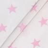 Бязь плательная 150 см 8130/32 Звезды крупные розовый б/з фото