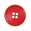 Пуговицы РП-28 4-х прокол 28 мм 51300 цвет 4410 красный упаковка 24 шт фото