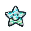 Термоаппликация ТАП 013 трансформер звезда разноцветная 8,5см фото