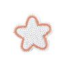 Термоаппликация ТАС 017 4*4см звездочка фото