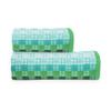 Полотенце махровое Sunvim 18-17 Мозаика 65/135 см цвет зеленый фото