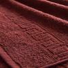 Полотенце махровое Туркменистан 70/140 см цвет горячий шоколад фото