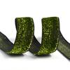 Лента Бархотка с3549 рис.8379 шир. 20мм цв.03 зеленый/черный уп.10 м фото