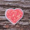 Термоаппликация ТАП 061 сердце розовое 6*5см фото