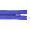 Молния пласт юбочная №3 20 см цвет синий фото