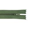 Молния пласт юбочная №3 20 см цвет зеленый фото