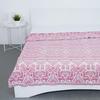 Плед Байковый хб 400 гр цвет розовый 190/200 см фото