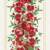 Ткань на отрез вафельное полотно 50 см 5636/1 Гранат фото