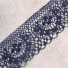 Кружево гипюр 4 см синий 187 1 метр фото