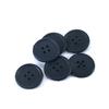 Пуговицы РП-20 4-х прокол 20 мм 33333 цвет черный упаковка 100 шт фото