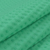 Вафельное полотно гладкокрашенное 150 см 240 гр/м2 7х7 мм премиум цвет 333 светло-зеленый фото