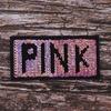 Аппликация PINK 10,5*5,5 см фото