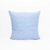 Подушка Лебяжий пух 215 Ромашки цвет голубой серебро 50/50 фото