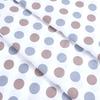 Ткань на отрез бязь плательная 150 см 1718/4 цвет серо-коричневый фото