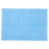 Полотенце-коврик махровое Pecorella ПЦ-103-03083 50/70 см цвет 135 голубой фото
