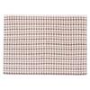 Полотенце-коврик махровое Musivo ПЦ-516-02484 50/70 см цвет 10000 бело-коричневый фото