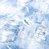 Ткань на отрез бязь плательная 150 см 11334/1 Джинса фото