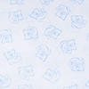 Ткань на отрез поплин 150 см 393А/3 цвет голубой фото