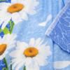 Маломеры Бязь 120 гр/м2 150 см М222 Ромашки на голубом 11 м фото