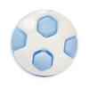 Пуговица детская сборная Мяч 13 мм цвет голубой упаковка 24 шт фото