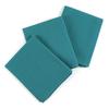 Набор вафельных полотенец Премиум 3 шт 45/70 см 530 изумруд фото