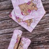 Детская пеленка бязь 73/120 см 1286/2 Соня розовый фото