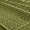 Полотенце махровое Туркменистан 40/65 см цвет оливковый фото
