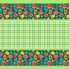 Вафельное полотно набивное 150 см 431/2 Кухня цвет зелёный фото