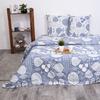 Постельное белье из поплина 28301/1 Сканди серый 2-х сп с евро простыней фото