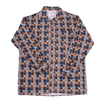 Рубашка мужская фланель клетка 52-54 цвет коричневый модель 2 фото