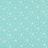 Ткань на отрез поплин 150 см 433/16 Звездочка цвет мята фото