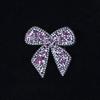 Термоаппликация ТАС 159 бант розовый 6см фото