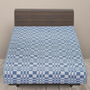 Одеяло байковое детское 100/140 цвет синий фото
