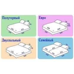 Какие размеры постельного белья бывают фото