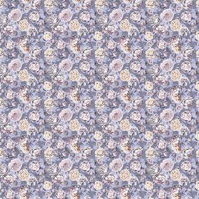 Фланель Престиж 150 см набивная арт 525 Тейково рис 21213 вид 2 Розалия фото