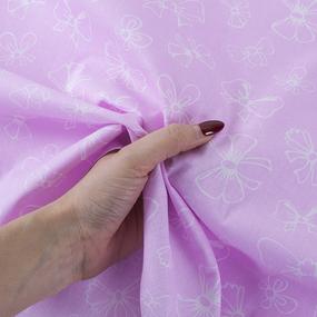 Ткань на отрез бязь плательная 150 см 1770/5 цвет розовый фото