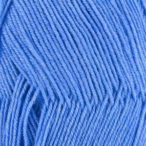 Пряжа для вязания ПЕХ Австралийский меринос 100гр/400м цвет 520 голубая пролеска фото