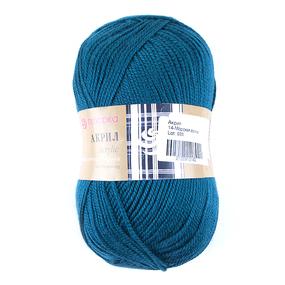 Пряжа для вязания ПЕХ Акрил 100гр/300м цвет 014 морская волна фото