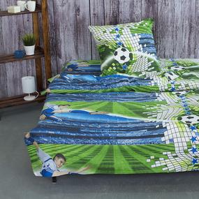 Детское постельное белье из поплина 1.5 сп 1693 Футбол фото